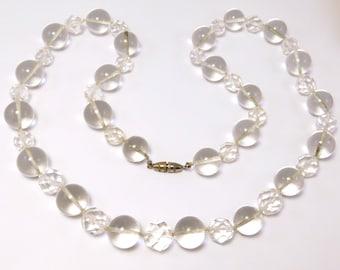 Art Deco Crystal Orb Pools Of Light Beads