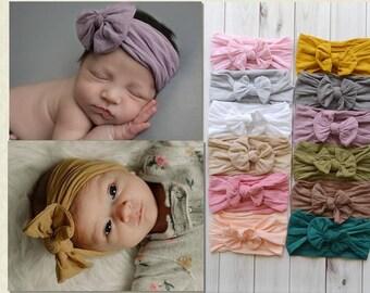 f5ca77306c84 PICK ANY Nylon Baby Headbands