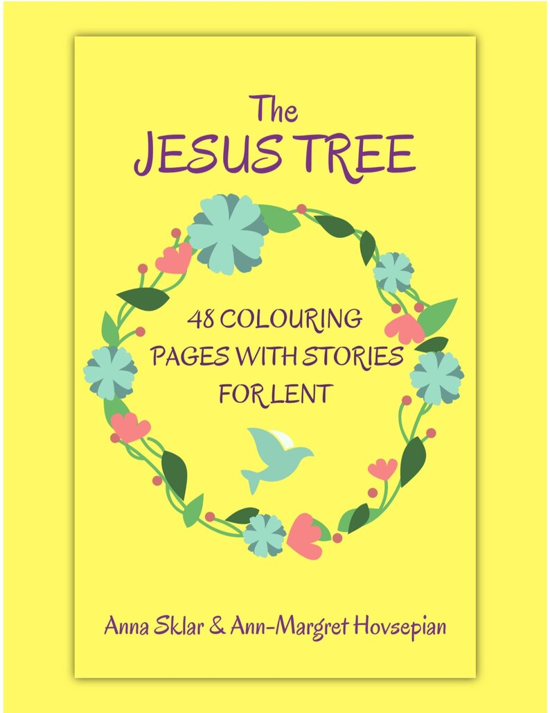 Jesus Tree  48 Colouring Pages With Stories for Lent image 0