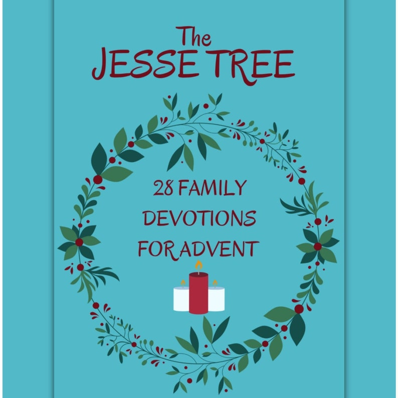 Jesse Tree  28 Family Devotions for Advent image 0