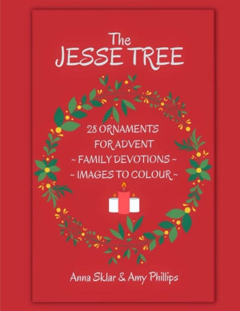 Jesse Tree  28 Ornaments for Advent with Family Devotions & image 0