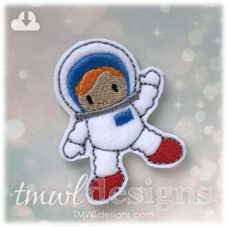 Astronaut Feltie Digital Design File 1.75