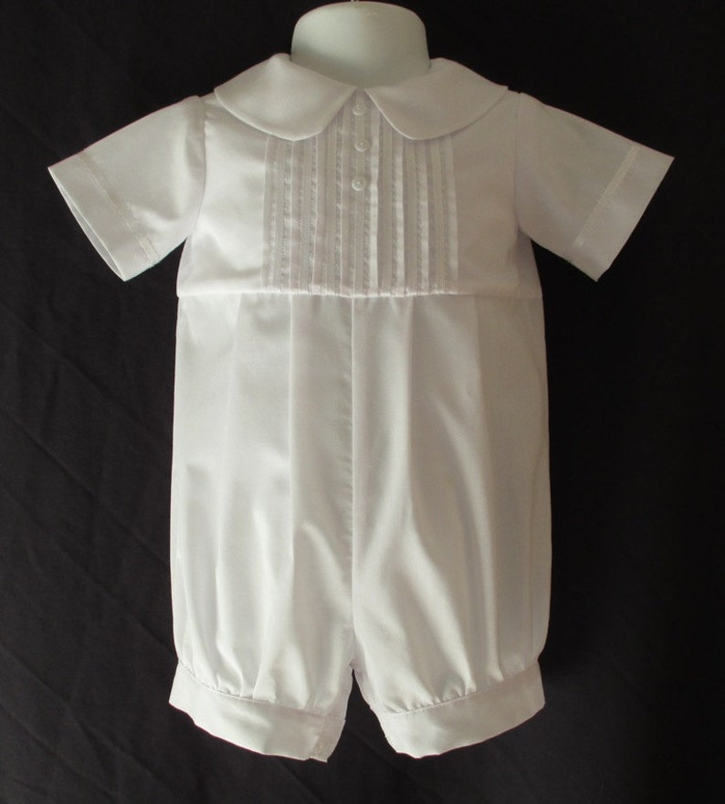 2352f2f37 Baby Reborn/Boy Christening Gown/ Baptism Outfit Romper Size | Etsy
