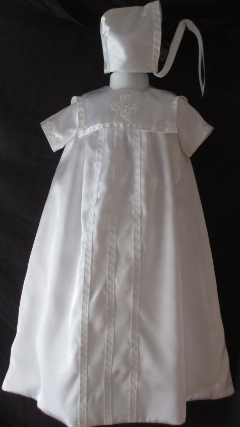 33138152d Baby Girl/ Boy Unisex Christening Gown Baptism Gown Size 0-6 | Etsy