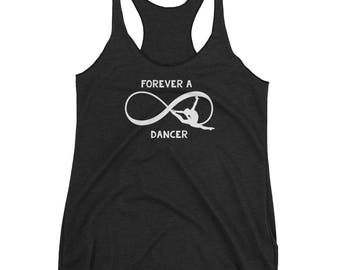 Forever a Dancer Dance Shoes Tap Swing Contemporary Tank