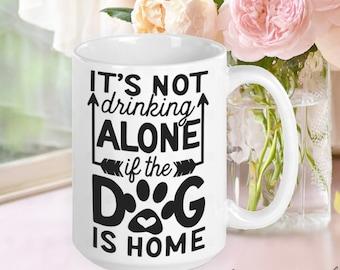 Drinking Buddy, Wine Mom, Dog Mom Mug, Dog Mom Gift, Dog Mama, Gifts for Dog Moms, Gifts for Dog Lovers, Gifts for Women, Gifts for Friends