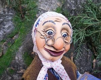 Ooak Pure Sculpt doll DOCTOR handmade Interior | Etsy
