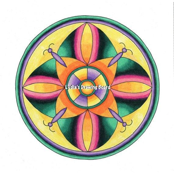 Mandala Mandala Art Mandala Wall Art Mandala Print
