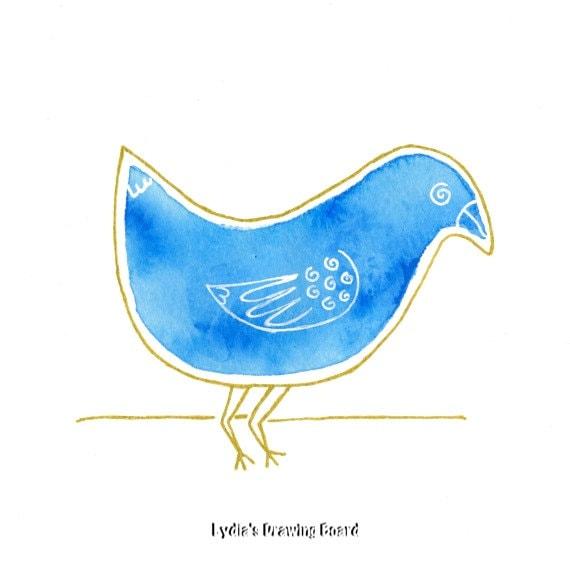 Blue Bird Bluebird Bluebird Of Happiness Bird Bird Art