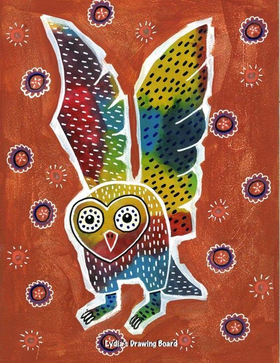 Mexican folk owl