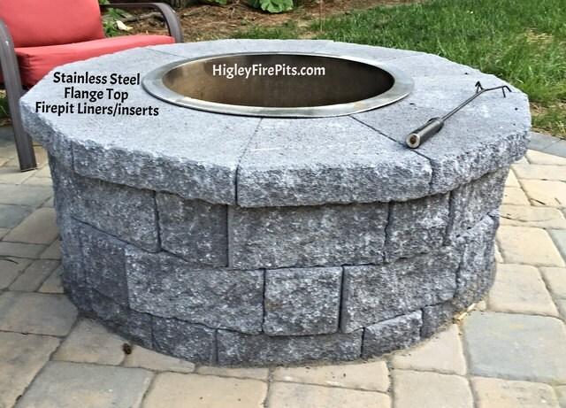 image 0; image 1 ... - 36 Diameter Stainless Steel Fire Pit Ring Liner-Insert Etsy