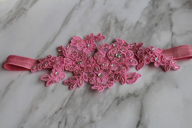 Garter French Pink