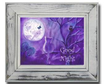 Welterusten schilderij etsy