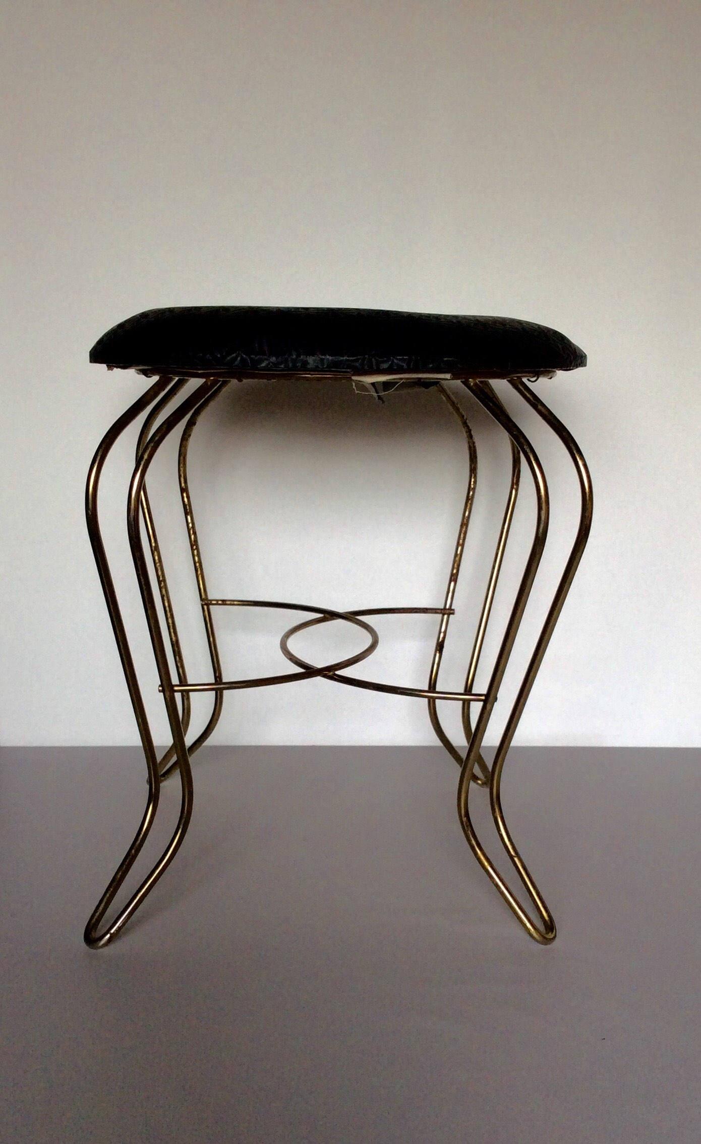 Outstanding Vintage Vanity Stool Inzonedesignstudio Interior Chair Design Inzonedesignstudiocom