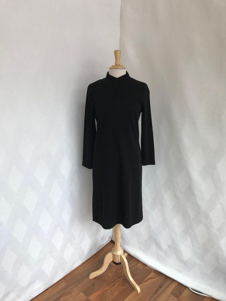 5409818aa8 Vintage 80s or 90s Lennie for Nina Leonard Black Long Sleeve