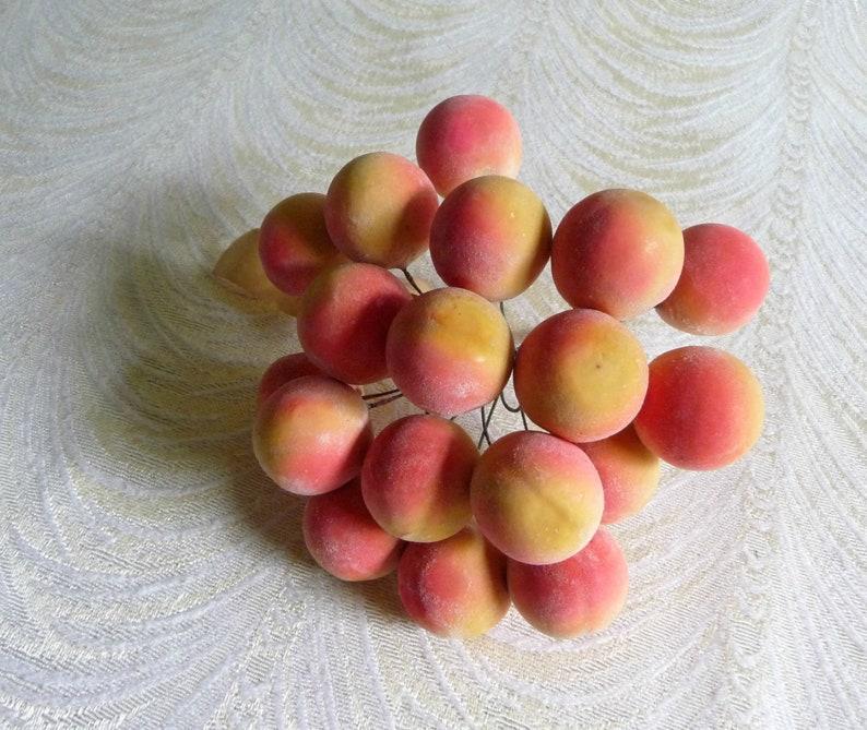 Apricot Fruit Name Foods Winter Warm Ear Muffs Faux Fur Ear
