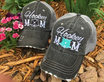 Hat. FREE piece of jewelry w/ every order { Hockey mom } Black, pink, red or teal. Add players # and name! Custom jewelry.