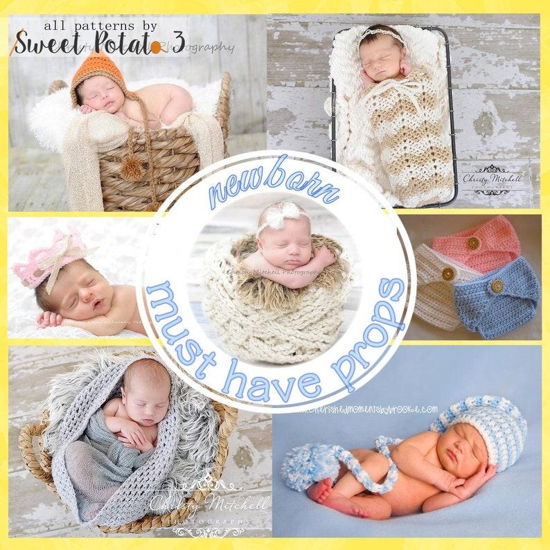 Newborn Must Have Photo Prop Bundle image 0