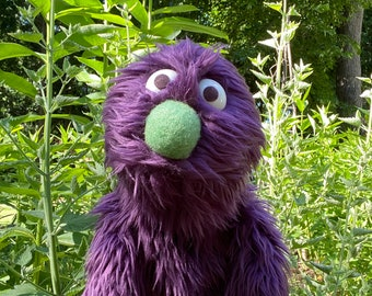 Professional Puppet, Hand Puppet, Monster Puppet, Virtual Learning, Remote Learning, Work From Home, Teacher Gift
