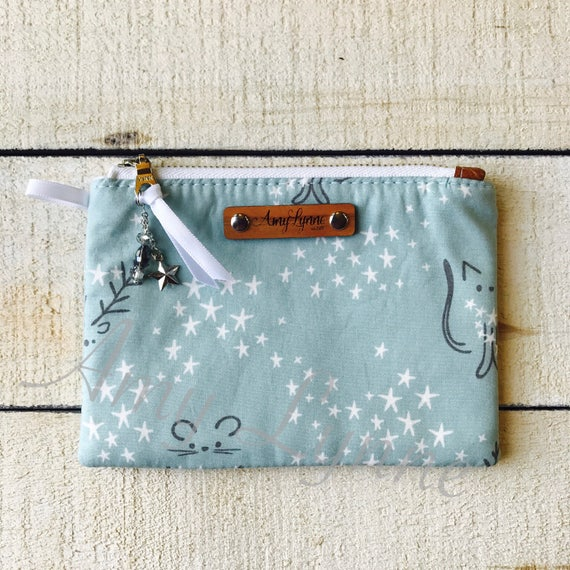 Coin Purse, Change Purse, Mini Wallet, Credit Card Pouch, Winter Fabric Purse