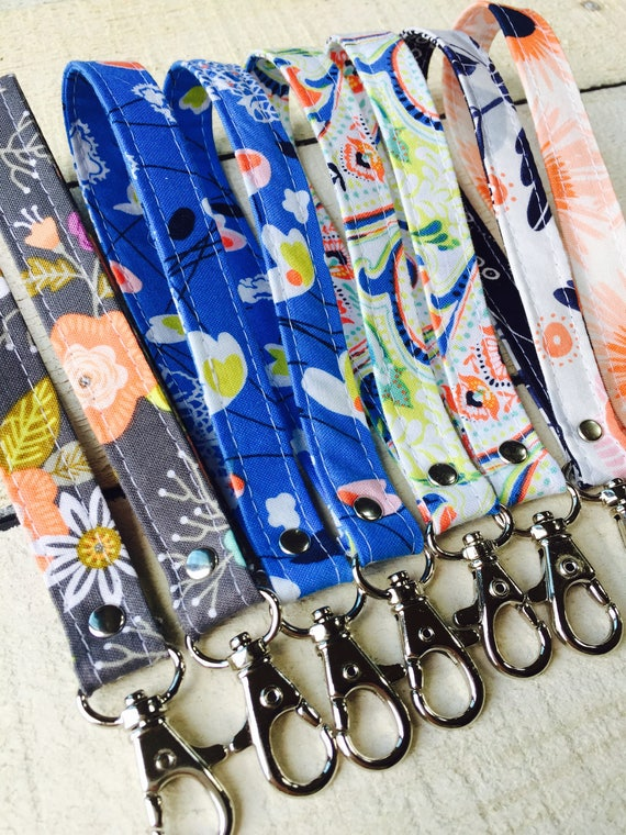 Wristlet Keychain Makes a Great Gift, Swivel Hook Wristlet Key Chain, Matching Key Chain