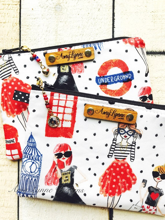 Traveling Ladies Coin Purse, Change Purse, Mini Wallet, Credit Card Pouch