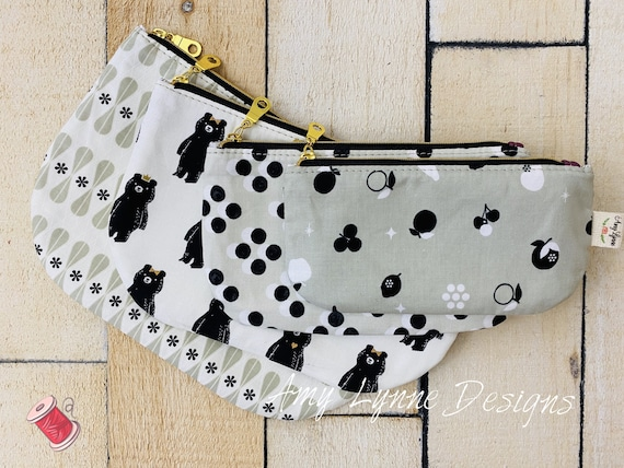 The Quintessential Quad Pouch Set™ Downloadable Pattern To Sew