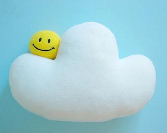 RESERVED - Children pillow, Cloud pillow, White cloud pillow, cloud cushion, nursery decorating ideas, nursery pillow MODEL 1