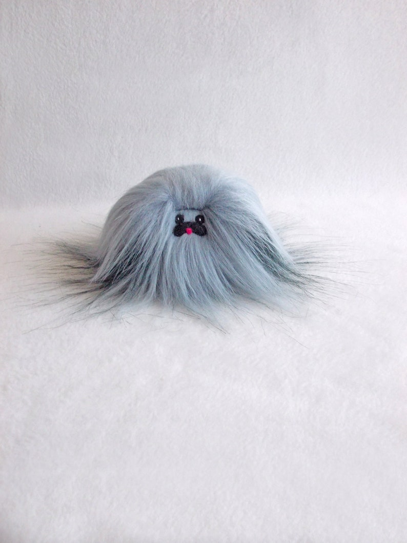 Pekinese Pekinese Hund Pekinese Grau Blau Pekinese Pekinese Grau Blauen Fell Hund Plüsch Hund Kleine Spielzeug Pekinese Plüschtier Gloria