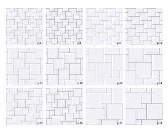 Dollhouse Wallpaper 36 Square Tile Simple Miniature Floor Etsy