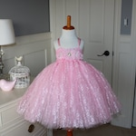 Custom - 3t Pink lace tutu dress