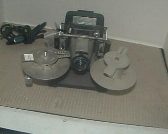 Vintage Microfiche Viewer