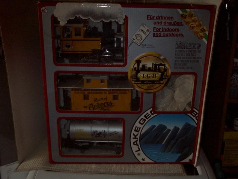 G Scale Lake George /&Boulder Train Set Mint