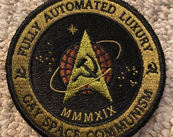Communist Space Force Velcro Patch