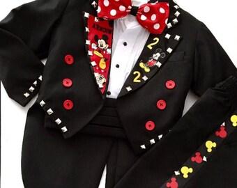 Boys Tuxedo Any Character Baby-Youth