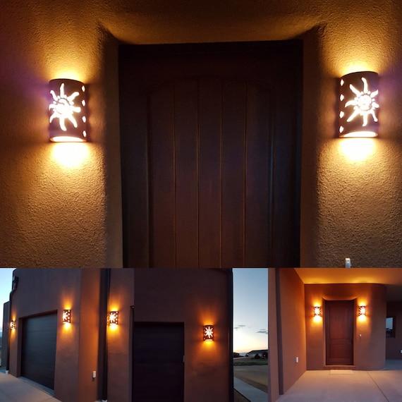 Southwest Outdoor Lighting Sconces