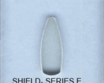 BulletProof Silhouette Press Dies Individual Shield Shape E