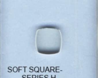 BulletProof Silhouette Press Dies Individual Soft Square Shape H
