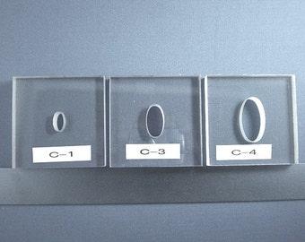 BulletProof Silhouette Press Dies Oval Set - our C124 series