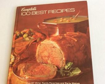 Vintage Cookbook, Campbell's 100 Best Reciprs