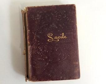 Antique Book, Lucile