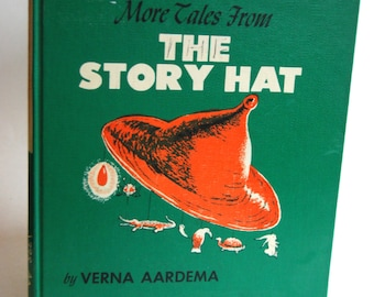 Vintage Children's Book, More Tales From The Story Hat