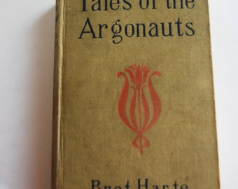 Vintage Book, Tales of the Argonauts