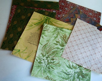Collection of Vintage Gift Wrap