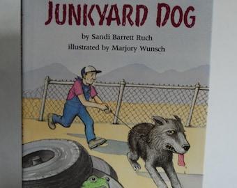Vintage Children's Book, Junkyard Dog