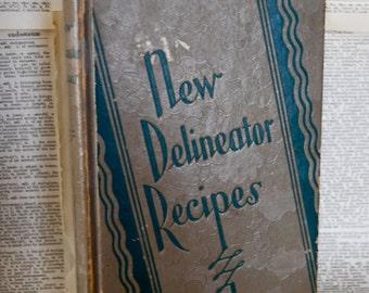 Vintage Cookbook, New Delineator Recipes