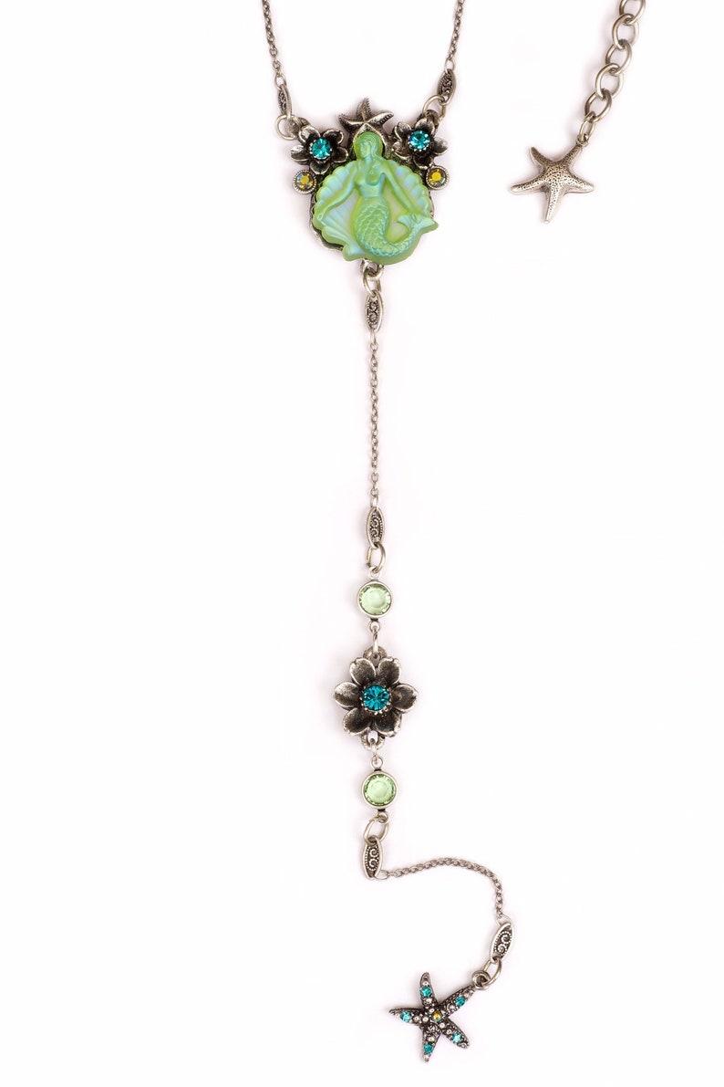 Mermaid Y necklace