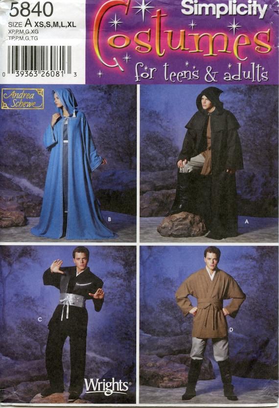 STAR Wars style Jedi Robe, Spock Star Trek Tunic, & Wizard or Elf ...