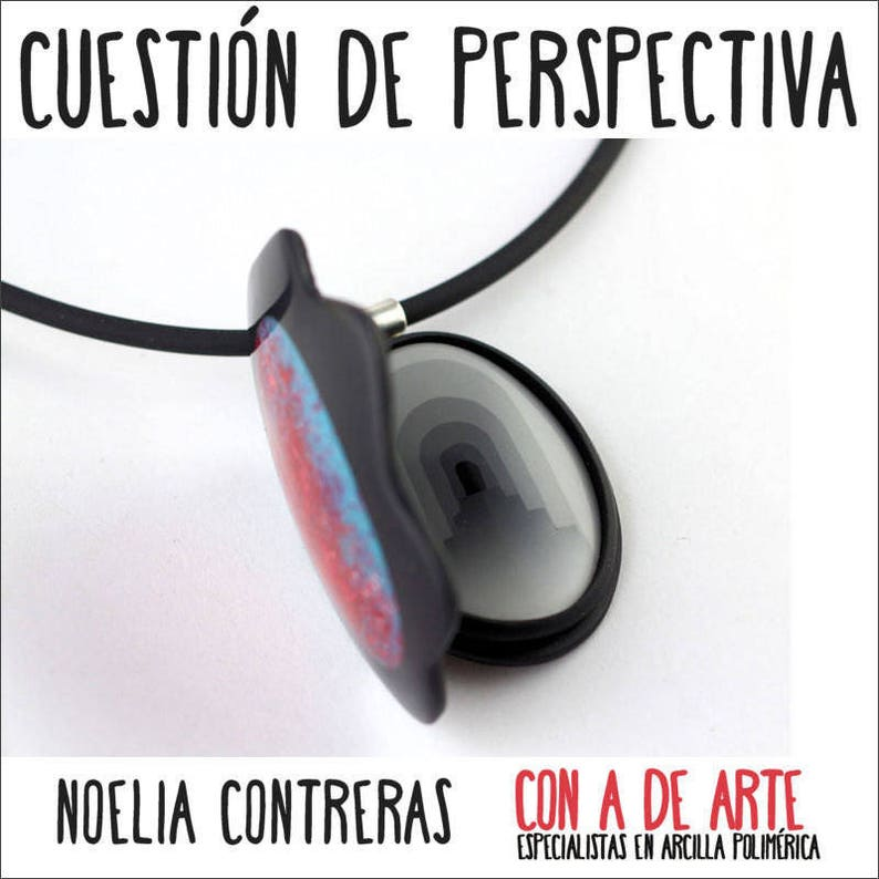 French A Matter of Perspective online workshop of Polymer Clay