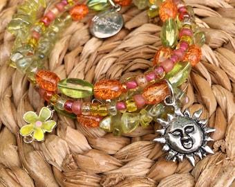 Sunshine in the Soul Wrap Bracelet